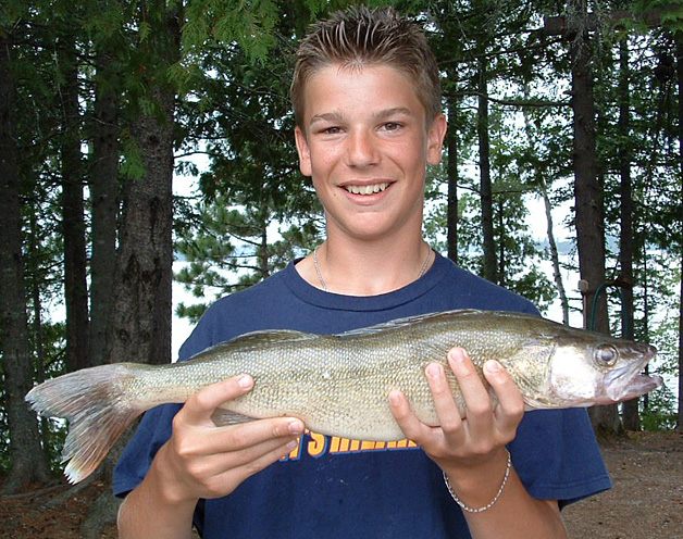 Trophy Walleye Pictures
